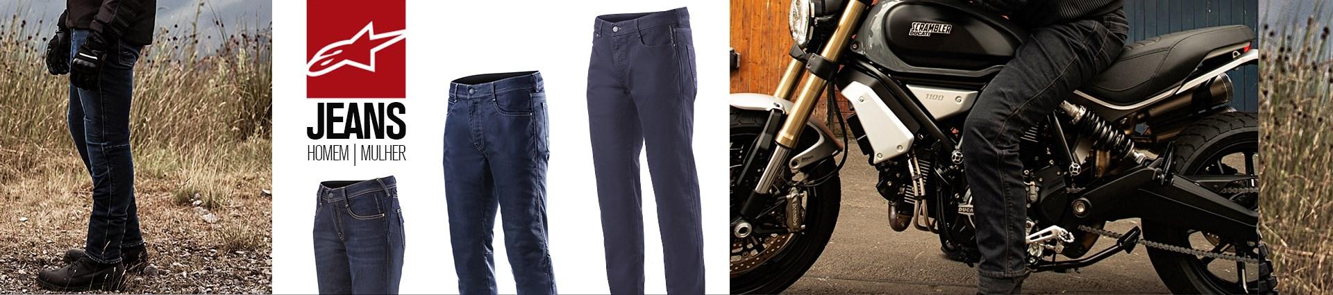 LP Calças - Alpinestars Jeans