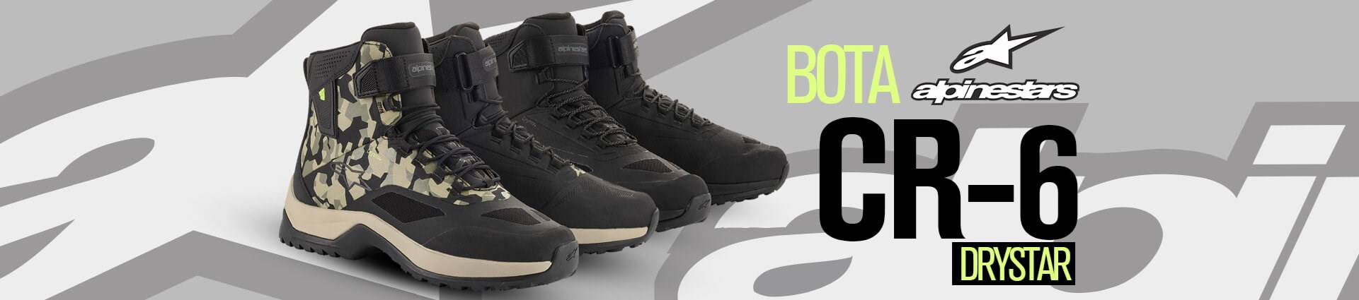 LP Botas - Alpinestars cr6