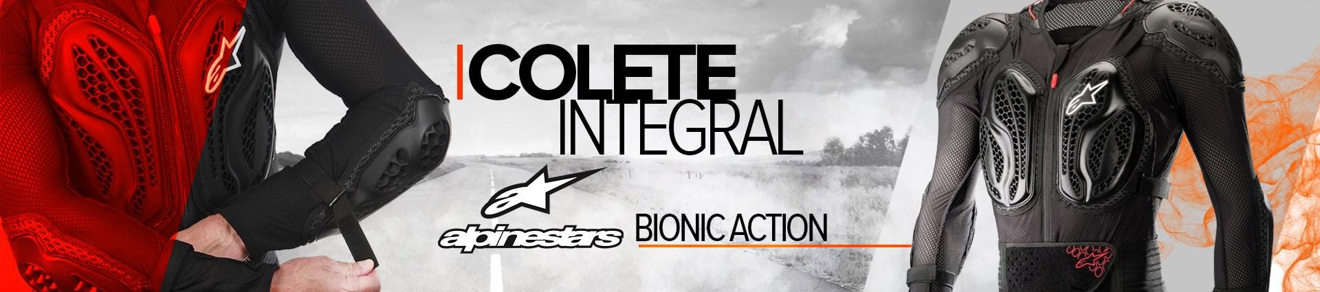 LP Proteções - Alpinestars - Colete Bionic Action