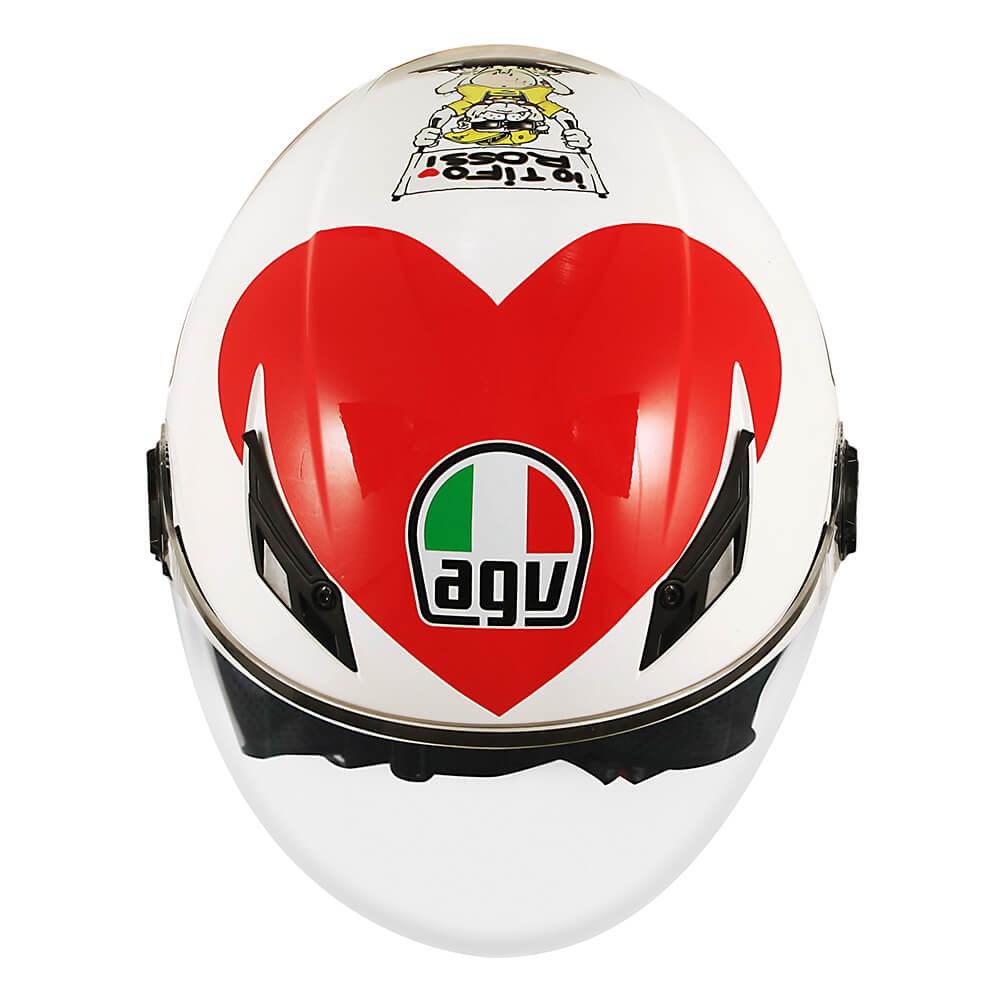 Capacete AGV Blade Valentinos Heart Replica