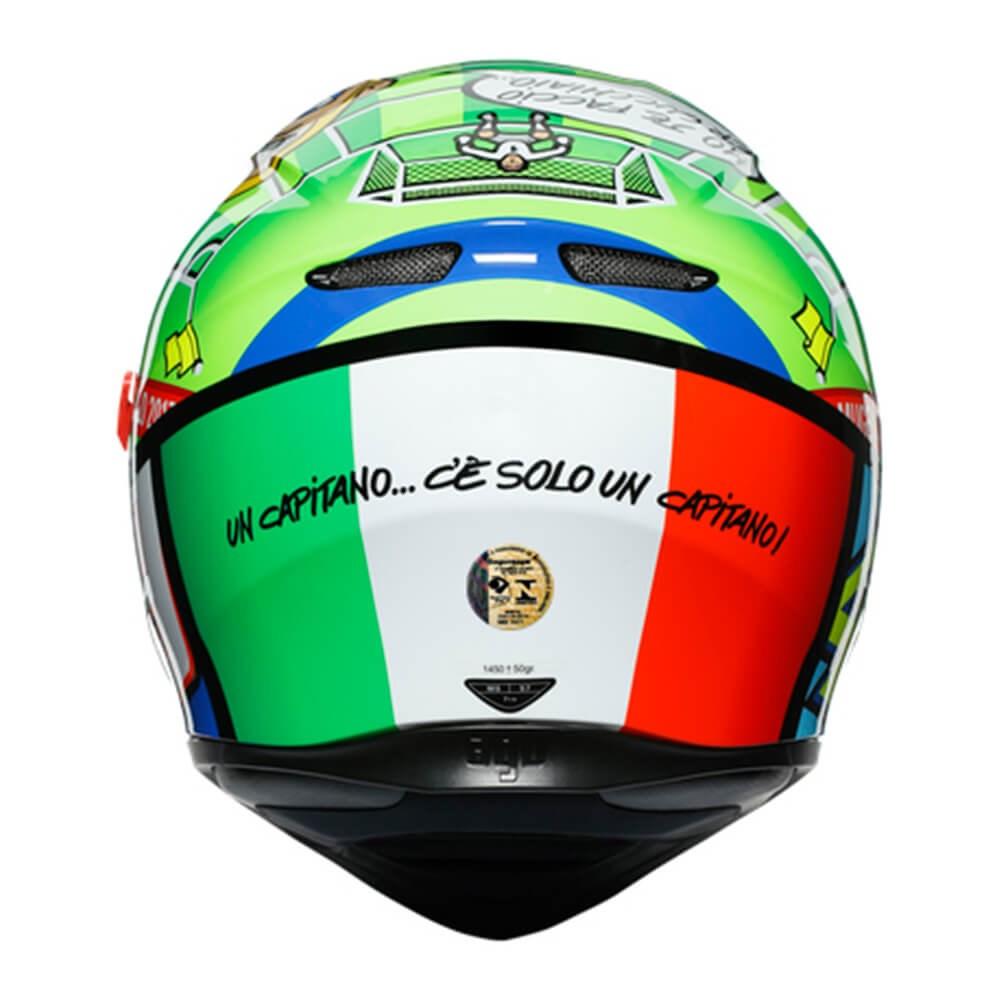 Capacete AGV K3 SV Rossi Mugello 2017 Replica