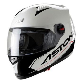 CAPACETE ASTONE GT TOURING BRANCO/PRETO