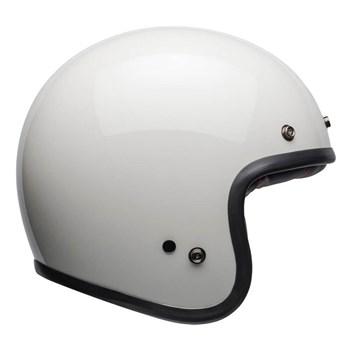 Capacete Bell Custom 500 Solid Vintage White