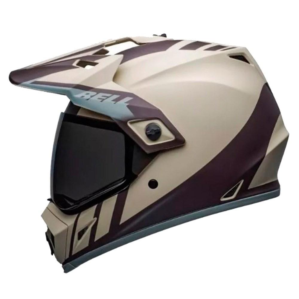 Capacete Bell Mx-9 Adventure Mips Dash Sand Brown Grey