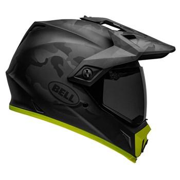 Capacete Bell Mx-9 Adventure Mips Stealth Camo Matte Black Hi-Viz