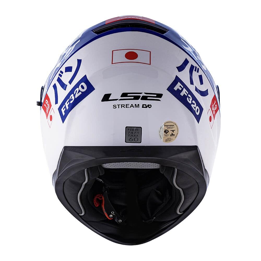Capacete LS2 Stream FF320 Sukeban