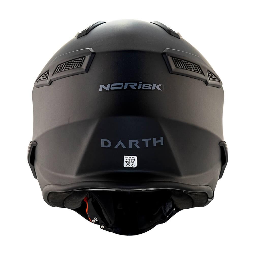 Capacete Norisk Darth Monocolor