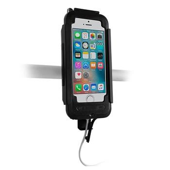 Estojo e Suporte Motocom Topq para Iphone 5
