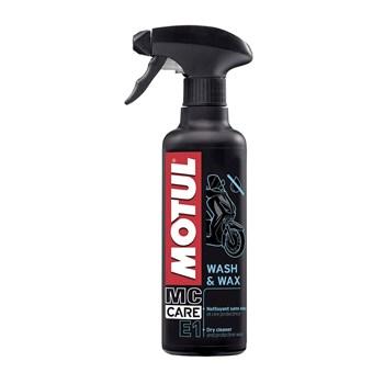 Limpa a Seco Motul E1 400Ml (Wash & Wax)