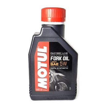 Óleo Suspensao Motul Fork Oil Factory Line Light 5W 500Ml